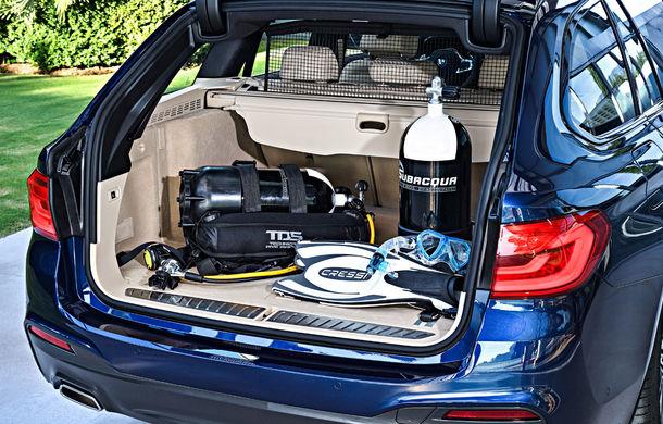 De familie germană: noua generație BMW Seria 5 primește versiunea break Touring - Poza 54