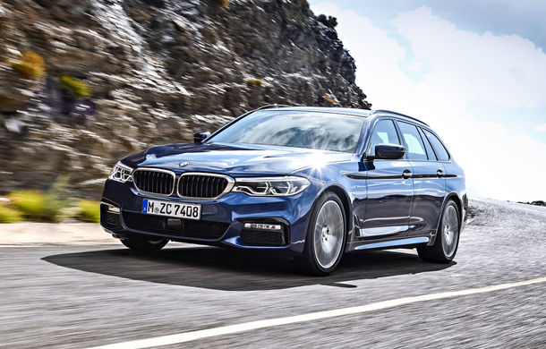 De familie germană: noua generație BMW Seria 5 primește versiunea break Touring - Poza 10