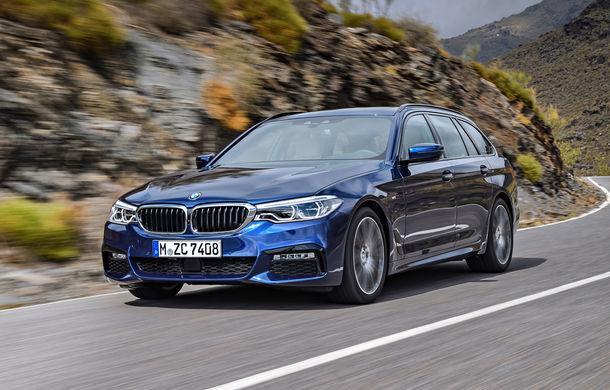 De familie germană: noua generație BMW Seria 5 primește versiunea break Touring - Poza 7