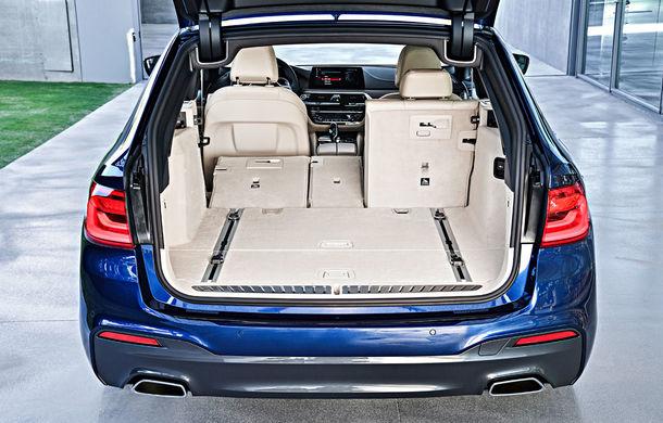 De familie germană: noua generație BMW Seria 5 primește versiunea break Touring - Poza 47