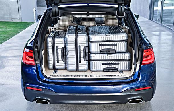 De familie germană: noua generație BMW Seria 5 primește versiunea break Touring - Poza 53