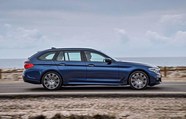De familie germană: noua generație BMW Seria 5 primește versiunea break Touring - Poza 35