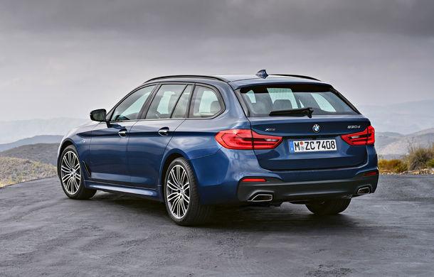 De familie germană: noua generație BMW Seria 5 primește versiunea break Touring - Poza 28