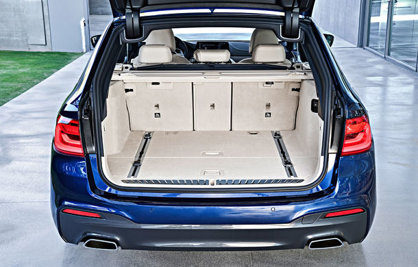De familie germană: noua generație BMW Seria 5 primește versiunea break Touring - Poza 50