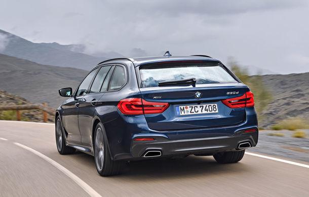 De familie germană: noua generație BMW Seria 5 primește versiunea break Touring - Poza 32