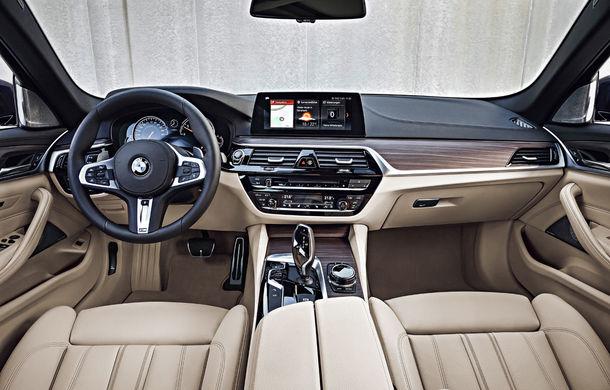 De familie germană: noua generație BMW Seria 5 primește versiunea break Touring - Poza 63