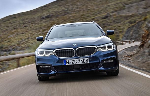 De familie germană: noua generație BMW Seria 5 primește versiunea break Touring - Poza 21