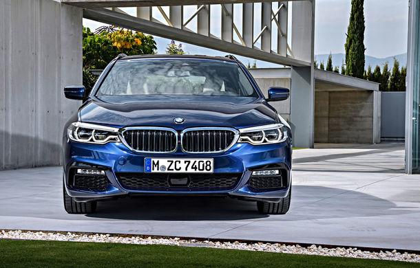 De familie germană: noua generație BMW Seria 5 primește versiunea break Touring - Poza 8