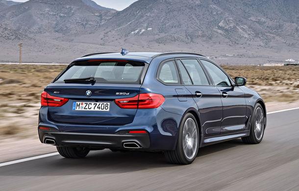 De familie germană: noua generație BMW Seria 5 primește versiunea break Touring - Poza 36