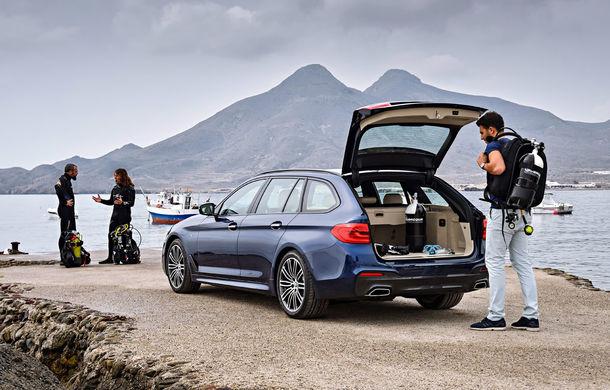 De familie germană: noua generație BMW Seria 5 primește versiunea break Touring - Poza 33