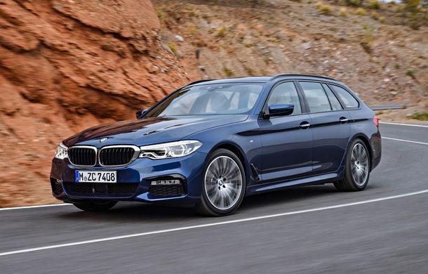 De familie germană: noua generație BMW Seria 5 primește versiunea break Touring - Poza 1