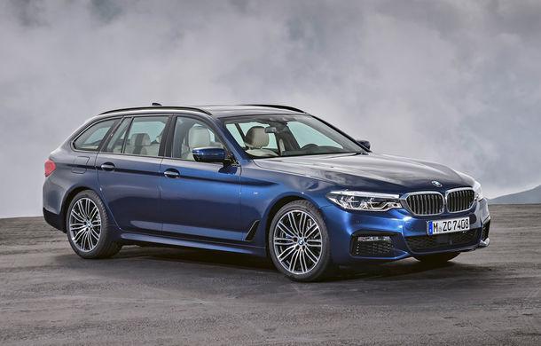 De familie germană: noua generație BMW Seria 5 primește versiunea break Touring - Poza 27
