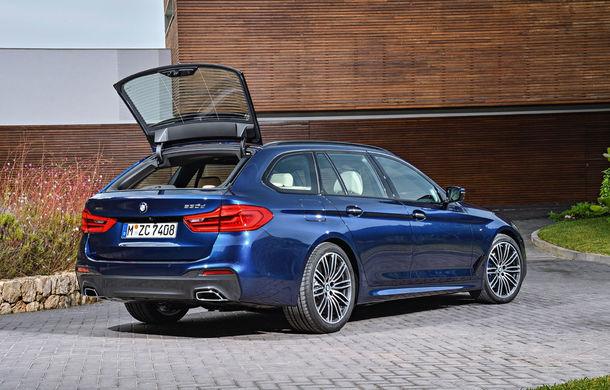 De familie germană: noua generație BMW Seria 5 primește versiunea break Touring - Poza 14