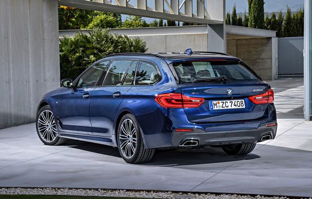 De familie germană: noua generație BMW Seria 5 primește versiunea break Touring - Poza 5