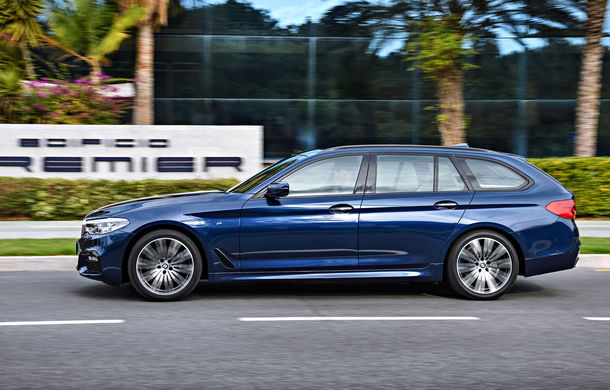 De familie germană: noua generație BMW Seria 5 primește versiunea break Touring - Poza 26