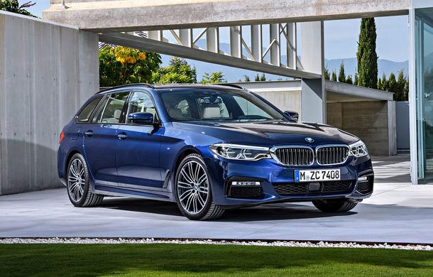 De familie germană: noua generație BMW Seria 5 primește versiunea break Touring - Poza 3