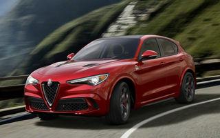 Platforma utilizată de Alfa Romeo Stelvio va fi împrumutată şi pentru Maserati, Jeep şi Dodge