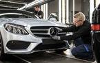 Bonus pentru muncitorii care au ajutat Mercedes să depășească BMW în 2016: angajații vor primi până la 5400 de euro