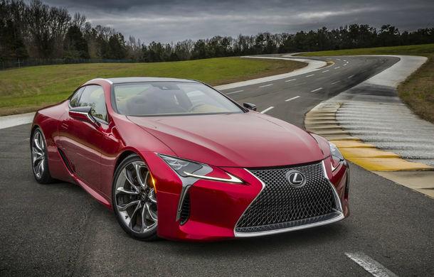 Un nou model Lexus de performanţă? Japonezii au înregistrat numele LC F pentru o versiune sportivă a lui Lexus LC - Poza 1