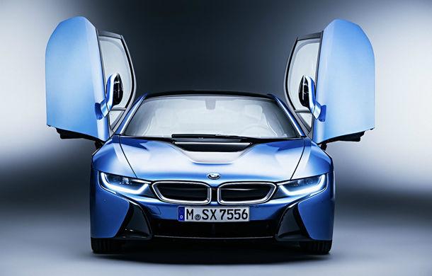 Până și cel mai futurist model are nevoie de un facelift: BMW i8 va primi o versiune îmbunătățită în 2018 - Poza 1