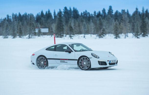 Valentine's Day în variantă masculină: drifturi pe gheață cu cele mai puternice modele Porsche - Poza 88