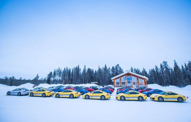 Valentine's Day în variantă masculină: drifturi pe gheață cu cele mai puternice modele Porsche - Poza 90
