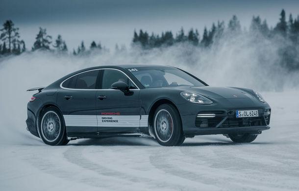 Valentine's Day în variantă masculină: drifturi pe gheață cu cele mai puternice modele Porsche - Poza 18