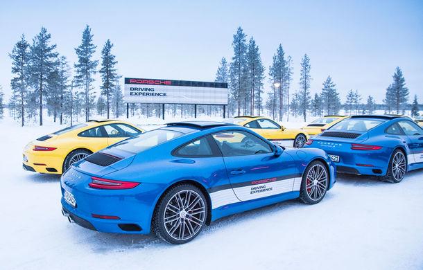 Valentine's Day în variantă masculină: drifturi pe gheață cu cele mai puternice modele Porsche - Poza 91