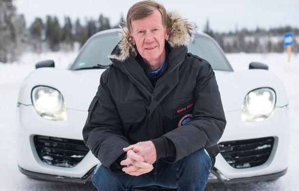 Valentine's Day în variantă masculină: drifturi pe gheață cu cele mai puternice modele Porsche - Poza 84