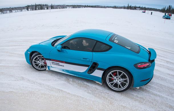 Valentine's Day în variantă masculină: drifturi pe gheață cu cele mai puternice modele Porsche - Poza 62