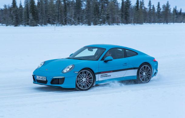Valentine's Day în variantă masculină: drifturi pe gheață cu cele mai puternice modele Porsche - Poza 67