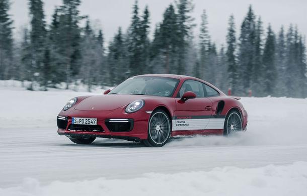 Valentine's Day în variantă masculină: drifturi pe gheață cu cele mai puternice modele Porsche - Poza 28