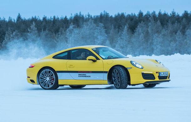 Valentine's Day în variantă masculină: drifturi pe gheață cu cele mai puternice modele Porsche - Poza 43