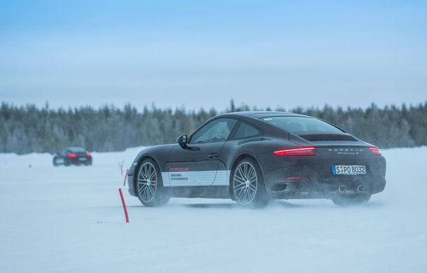 Valentine's Day în variantă masculină: drifturi pe gheață cu cele mai puternice modele Porsche - Poza 89