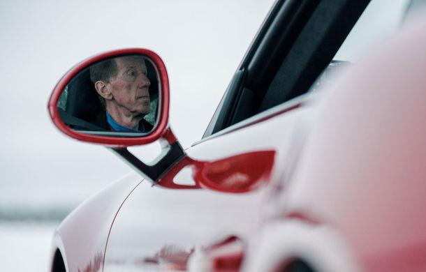 Valentine's Day în variantă masculină: drifturi pe gheață cu cele mai puternice modele Porsche - Poza 35
