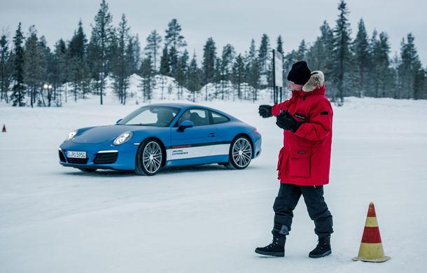 Valentine's Day în variantă masculină: drifturi pe gheață cu cele mai puternice modele Porsche - Poza 12