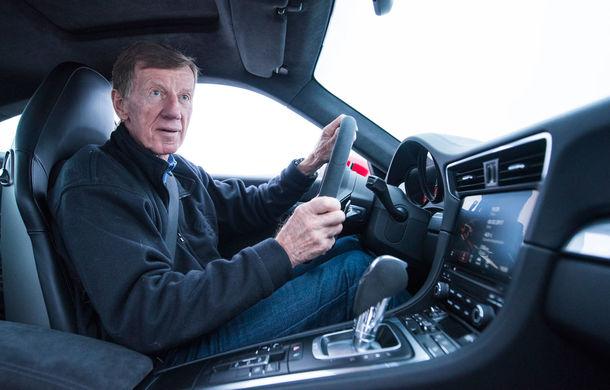 Valentine's Day în variantă masculină: drifturi pe gheață cu cele mai puternice modele Porsche - Poza 59