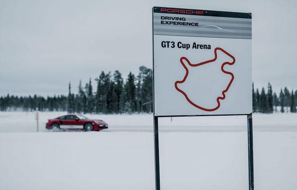 Valentine's Day în variantă masculină: drifturi pe gheață cu cele mai puternice modele Porsche - Poza 29