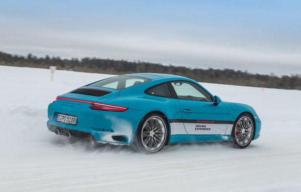 Valentine's Day în variantă masculină: drifturi pe gheață cu cele mai puternice modele Porsche - Poza 83
