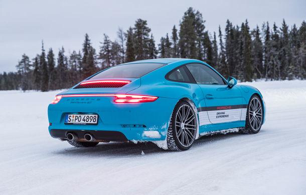 Valentine's Day în variantă masculină: drifturi pe gheață cu cele mai puternice modele Porsche - Poza 57