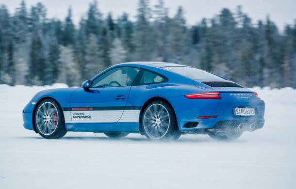 Valentine's Day în variantă masculină: drifturi pe gheață cu cele mai puternice modele Porsche - Poza 13