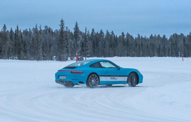 Valentine's Day în variantă masculină: drifturi pe gheață cu cele mai puternice modele Porsche - Poza 46