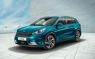 Tripleta ecologică: Kia Niro va primi în 2018 o versiune electrică bazată pe Hyundai Ioniq