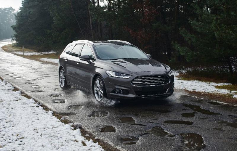 Ar fi utilă și în România: Ford va lansa o aplicație care avertizează șoferii în timp real să evite gropile din trafic - Poza 1