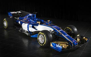 Mult albastru și un pic de auriu: Sauber a dezvăluit noul monopost pentru sezonul 2017 al Formulei 1
