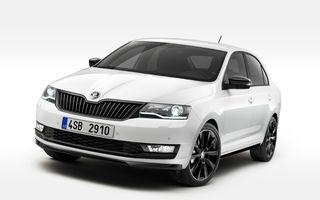 Skoda Rapid facelift: compacta primeşte îmbunătăţiri de design şi noul motor TSI de 1.0 litri şi până la 110 cai putere