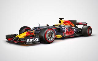 """Red Bull a dezvăluit noul monopost pentru 2017: """"Este agresiv, sperăm să fie și rapid"""""""