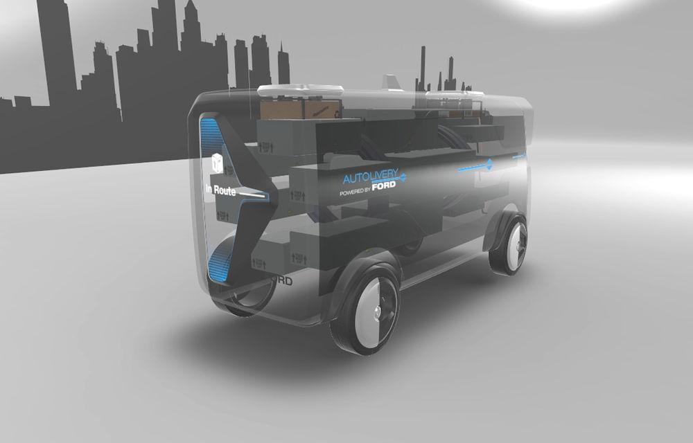 Tehnologii Ford: astăzi internet Wi-Fi în mașină, în viitor serviciu de livrare de colete cu mașini autonome și drone - Poza 6