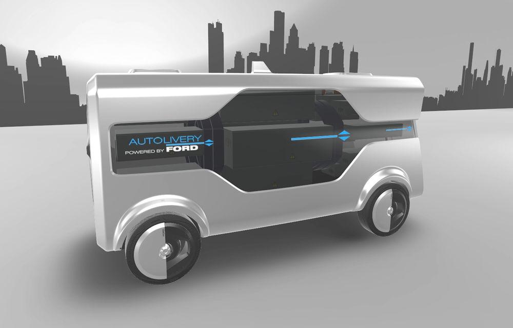 Tehnologii Ford: astăzi internet Wi-Fi în mașină, în viitor serviciu de livrare de colete cu mașini autonome și drone - Poza 4