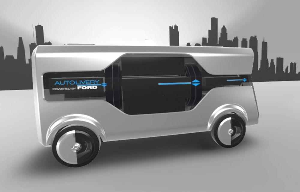 Tehnologii Ford: astăzi internet Wi-Fi în mașină, în viitor serviciu de livrare de colete cu mașini autonome și drone - Poza 1